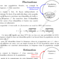 Fiche sur les Fluctuation - Estimation